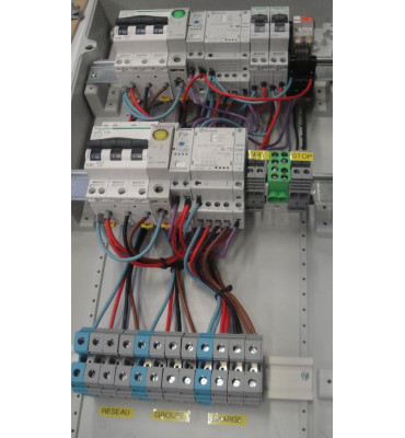 Coffret inverseur de source automatique 20A