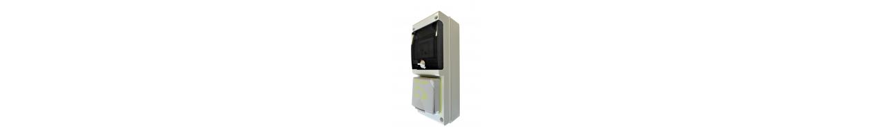 Borne de recharge pour véhicules électriques Wall Box Scame Sobem